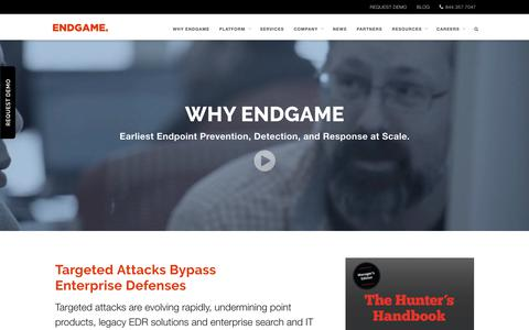 Why Endgame - Top Cyber Security Company | Endgame