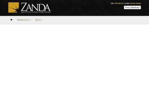 Find a Distributor – Zanda Architectural Hardware