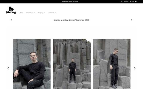 Money x Abley Spring/Summer 2015 – MONEY