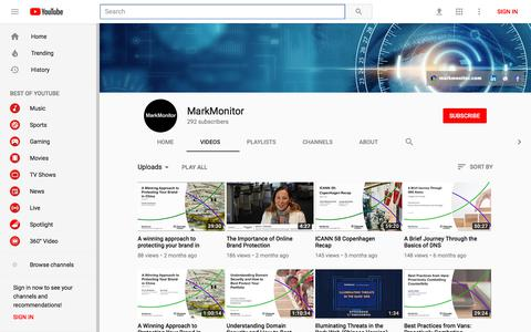 MarkMonitor - YouTube
