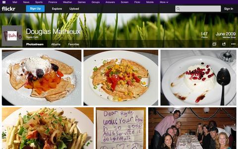Screenshot of Flickr Page flickr.com - Flickr: Rigolo Café's Photostream - captured Oct. 24, 2014