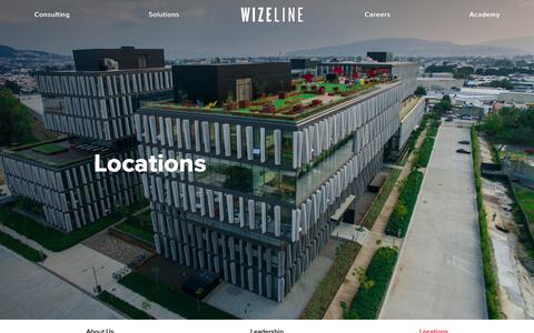 Screenshot of Locations Page wizeline.com - Locations - Wizeline - captured April 12, 2019