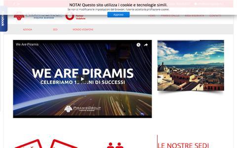 Screenshot of Home Page piramisgroup.com - Home | PiramisGroup | Piramis Group | Evolving Business - captured July 18, 2018