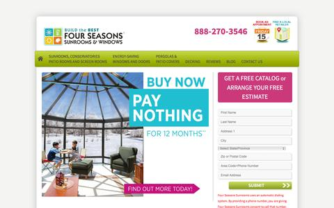Four Seasons Sunrooms | Sunroom | Solariums | Sunroom Designs | Four Season Sunrooms