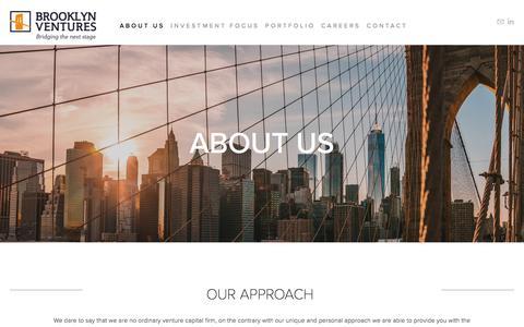Screenshot of Testimonials Page brooklyn-ventures.com - Brooklyn Ventures - captured Aug. 4, 2018