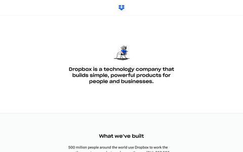About - Dropbox