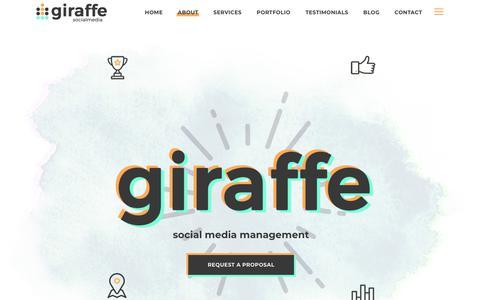 Home - Giraffe Social Media