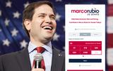 New Screenshot Marco Rubio for US Senate