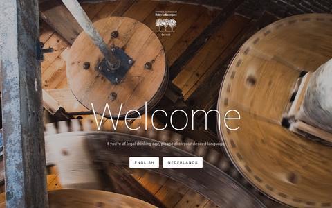 Screenshot of Home Page onderdeboompjes.eu - Onder De Boompjes - captured Feb. 14, 2016