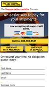 New Landing Page JB Hunt Transport Services, Inc.