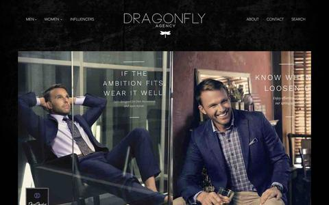 Screenshot of Home Page thedragonflyagency.com - Home | The Dragonfly Agency - captured June 16, 2017