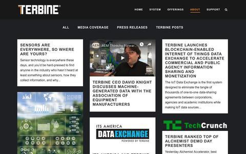 Screenshot of Press Page terbine.com - Terbine     News - captured Oct. 20, 2018