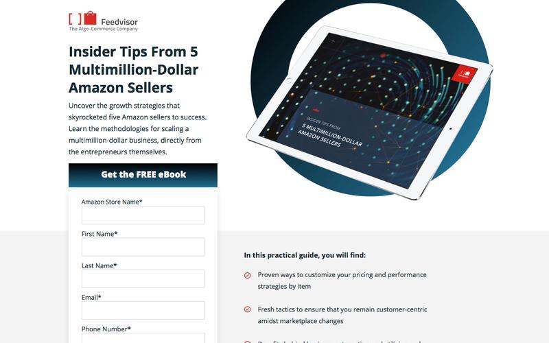 Insider Tips From 5 Multimillion-Dollar Amazon Sellers eBook