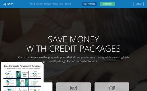 Screenshot of Pricing Page 24slides.com - PowerPoint Design | Presentation Designers - captured May 24, 2017