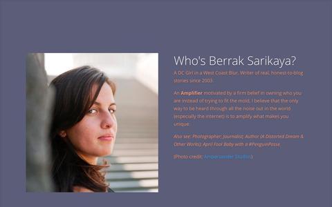 Screenshot of Home Page pq-productions.com - Freelance Writer - Amplifier - Berrak Sarikaya - captured Sept. 26, 2014