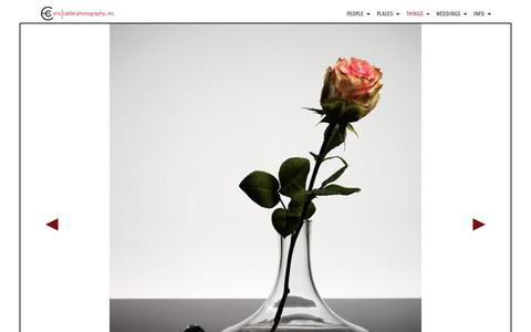 Screenshot of Products Page ericcable.com - Products - Portland Oregon Photographer Eric Cable - captured Sept. 28, 2018