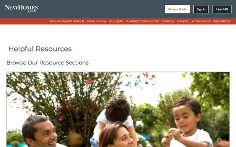 New Home Buying Resources For Home Buyers - New Homes Guide