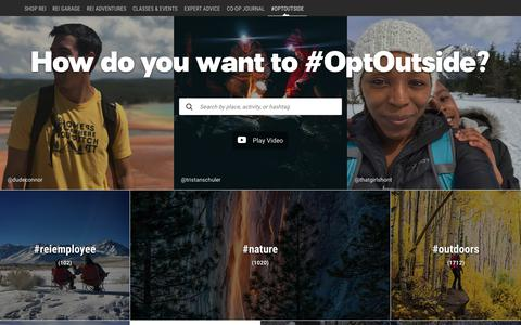 OptOutside: Find Trails & Get Inspired at REI - REI.com