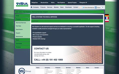 Screenshot of Support Page usluk.com captured Oct. 8, 2014