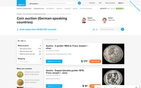 Coin auction (German-speaking countries) - Catawiki
