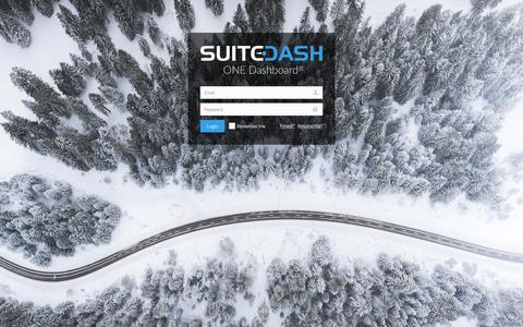 Screenshot of Login Page suitedash.com - SuiteDash - Login - captured July 8, 2018