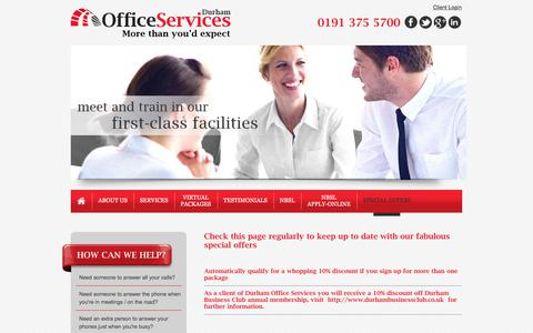 Screenshot of Blog durhamofficeservices.co.uk - Virtual Office Services | Telephone Answering Services | Meeting Room Hire | Durham | Sunderland | Newcastle - captured June 5, 2017