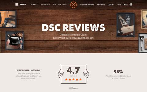 Dollar Shave Club Reviews - Razors and Blades | Dollar Shave Club