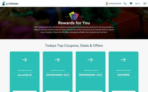 Screenshot of grabhouse.com - Rewards | Grabhouse - captured Oct. 27, 2016
