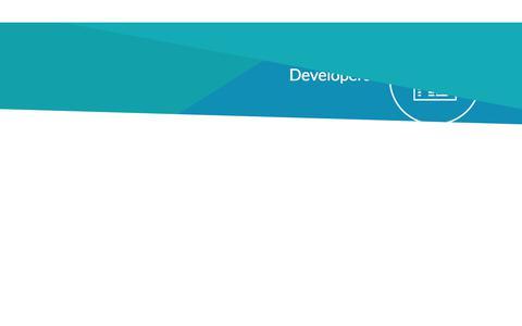 Screenshot of Developers Page sharpencx.com - Developers - Sharpen Contact Center Software - captured Oct. 13, 2017