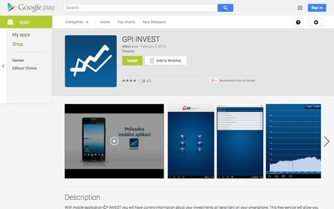 Screenshot of Android App Page google.com - GPI INVEST - Android Apps on Google Play - captured Nov. 3, 2014