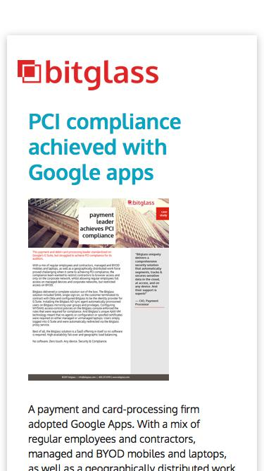 Payment Firm PCI Case Study