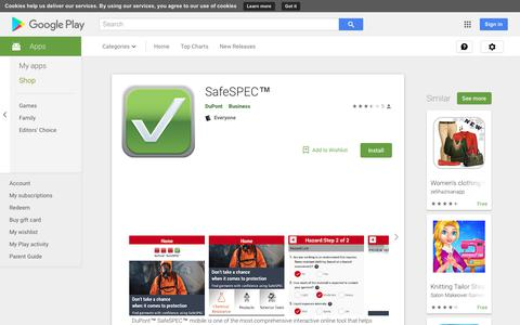 SafeSPEC™ - Apps on Google Play