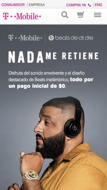 Beats By Dre | Audífonos, bocinas y accesorios Beats | T-Mobile