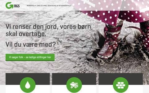 Screenshot of Home Page vandrens.com - Start - captured Feb. 26, 2016
