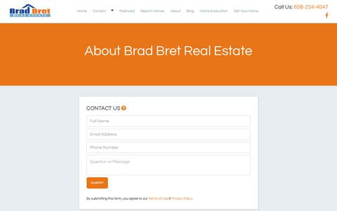 Screenshot of About Page bradbret.com - About Brad Bret Real Estate | Brad Bret Real Estate - captured Nov. 23, 2016