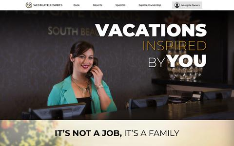 Careers & Job Opportunities | Westgate Resorts