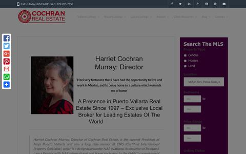 Screenshot of About Page casasandvillas.com - About Me - Casas and Villas Puerto Vallarta - captured Jan. 29, 2016