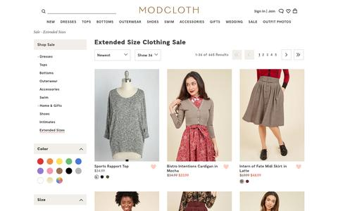 Cute Plus Size Clothing on Sale | ModCloth