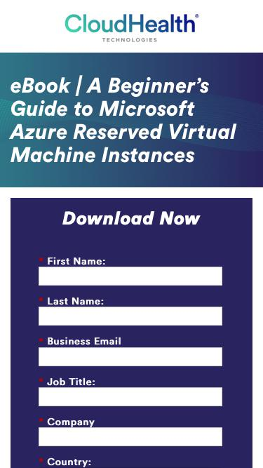 Beginner's Guide to Microsoft Azure Reserved Virtual Machine Instances