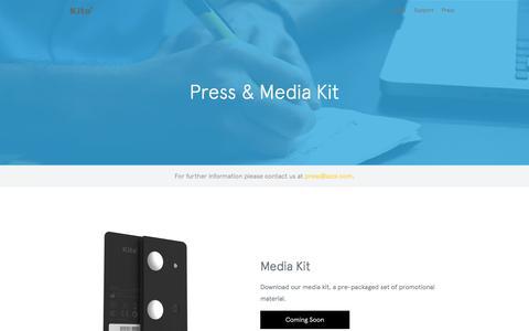 Screenshot of Press Page azoi.com - Press - Azoi Inc. - captured Feb. 23, 2016