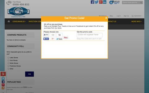 Screenshot of Login Page gloveclub.co.uk - Glove Club Ltd - Established Since 1994 - captured Nov. 2, 2014