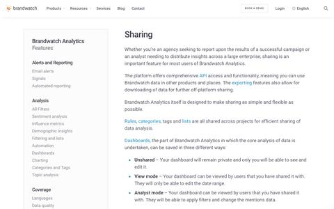 Sharing | Brandwatch