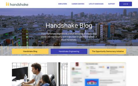 Engineering Blog | Handshake