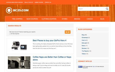 Screenshot of Press Page bc25.com - News - BC25.com - captured Nov. 2, 2014
