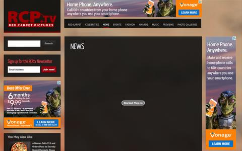 Screenshot of Press Page rcp.tv - News | RCP.tv - captured Oct. 31, 2014