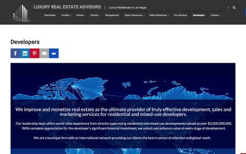 Screenshot of Developers Page lvlra.com - Developers - captured Feb. 2, 2016