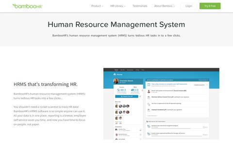 Human Resource Management System | BambooHR