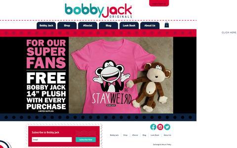 Screenshot of Home Page bobbyjackoriginals.com - Bobby Jack Originals - captured Oct. 10, 2015