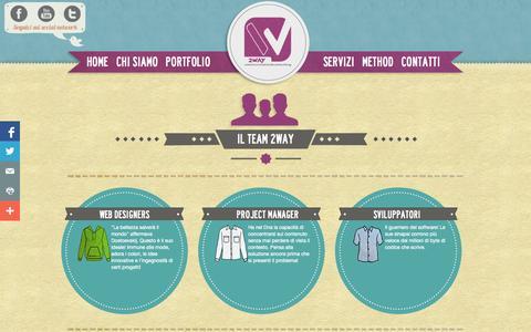 Screenshot of Team Page 2waycom.it - Web Agency - Milano - Web Marketing | Web Design | Staff | 2Way Communication - captured Sept. 23, 2014