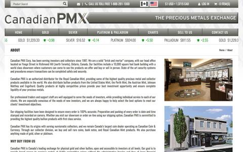 Screenshot of About Page canadianpmx.com - About | Canadian PMX - captured May 13, 2017